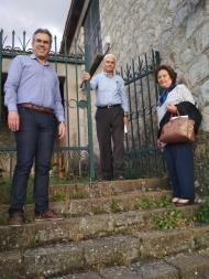 Ο Φ. Ζαΐμης επισκέφθηκε το Καλέντζι για την ανακαίνιση της οικίας του Γεωργίου Παπανδρέου