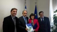 Η Πρέσβης της Σλοβακίας συναντήθηκε με τον Περιφερειάρχη Δυτικής Ελλάδας