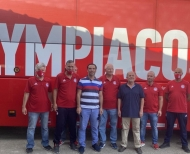 Ο Δ. Νικολακόπουλος υποδέχτηκε την ανθρωπιστική βοήθεια της ΠΑΕ Ολυμπιακός στην Ηλεία
