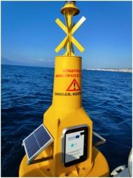 Τοποθετήθηκε κυματογράφος στη θαλάσσια περιοχή του Νότιου Λιμένα Πατρών για την παρακολούθηση της διάβρωσης των ακτών, στο πλαίσιο του ευρωπαϊκού έργου TRITON