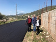 Επίσκεψη της Αντιπεριφερειάρχη Χρ. Σταρακά στα έργα αποκατάστασης του οδικού δικτύου στην Ε.Ο. Παραβόλα–Καλλιθέα–Κρύο Νερό–Σπαρτιά & στη γέφυρα της Νερομάνας