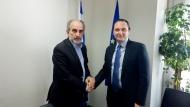 Στην Περιφέρεια Δυτικής Ελλάδος ο Πρέσβης της Ουκρανίας - Συζήτηση με τον Περιφερειάρχη Απόστολο Κατσιφάρα για εμπορικές σχέσεις και επενδύσεις