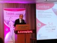 Απόστολος Κατσιφάρας: Η πρόληψη είναι η πρώτη νίκη μας κατά του καρκίνου - Παρέμβαση στο Συνέδριο Ογκολογίας στην Πάτρα