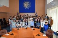 Οι μαθητές του 50ου Δημοτικού Σχολείου Πάτρας στο Περιφερειακό Συμβούλιο Δυτικής Ελλάδας