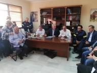Συνεδρίαση του ΣΟΠΠ στην Ανδραβίδα παρουσία του Περιφερειάρχη Απόστολου Κατσιφάρα και του Προέδρου του ΟΑΣΠ Ευθύμιου Λέκκα