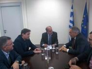Συνάντηση του Περιφερειάρχη Δυτ. Ελλάδας με τον υποψήφιο Πρόεδρο του Επιμελητηρίου Αχαϊας Π. Κρίκη