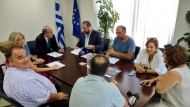 Συνάντηση του Περιφερειάρχη Απόστολου Κατσιφάρα με την Διοικούσα Επιτροπή του ΤΕΕ Δυτ. Ελλάδας