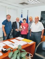 Συνάντηση αντιπροσωπείας του ΘΠΚΠ «Μέριμνα» με τον Αντιπεριφερειάρχη Παναγιώτη Σακελλαρόπουλο