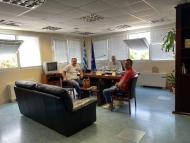 Συνάντηση Αντιπεριφερειάρχη Αχαΐας Χ. Μπονάνου με το προεδρείο Ιδιοκτητών Τουριστικών Λεωφορείων