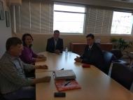 Συνάντηση του Αντιπεριφερειάρχη Ν.Μπαλαμπάνη με τον Δ. Καλαματιανό και ενημέρωση για θέματα Περιβάλλοντος