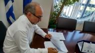 Υπεγράφη η σύμβαση για τη «Συντήρηση – Αποκατάσταση και άρση της επικινδυνότητας της Ε.Ο. 42 Αμφιλοχία - Βόνιτσα - Λευκάδα και των Οδικών Τμημάτων Βόνιτσα - Άκτιο και Άγιος Νικόλαος - Άκτιο»