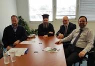 Συνάντηση εργασίας για την ανάδειξη του Μητροπολιτικού Ναού Ευαγγελιστρίας Πατρών