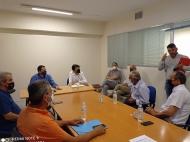 Συνάντηση του Αντιπεριφερειάρχη Αγροτικής Ανάπτυξης, Θ. Βασιλόπουλου με Αντιδημάρχους των Καλαβρύτων για την κτηνοτροφία και τους αναδασμούς