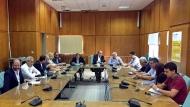 Απόστολος Κατσιφάρας: Στόχος μας νοικοκυριά και επιχειρήσεις να αποκτήσουν πρόσβαση σε φθηνό και φιλικό προς το περιβάλλον καύσιμο – Τεχνική συνάντηση στον Πύργο για το Φυσικό Αέριο