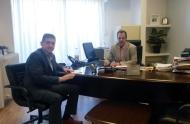Συνάντηση του Γρ. Αλεξόπουλου με το Γ.Γ. Υποδομών για τα μεγάλα έργα στην Αχαΐα