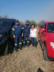 Κινητοποίηση στην Αιτωλοακαρνανία για τη φωτιά στην Αστροβίτσα