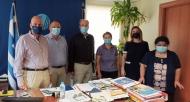Σύσκεψη στην Π.Ε. Αχαΐας για την ασφαλή έναρξη λειτουργίας των σχολικών μονάδων