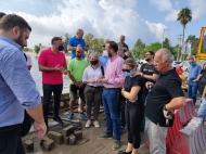 Επιτόπια αυτοψία κλιμακίου του ΥπΠο στα Γεφύρια του Αιτωλικού – Επίσπευση των διαδικασιών μελετών και αποκατάστασης ζήτησε ο Νεκτάριος Φαρμάκης