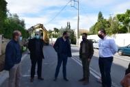 Τα έργα συντήρησης της παλαιάς εθνικής οδού Πατρών - Κορίνθου επισκέφθηκε ο Περιφερειάρχης, Νεκτάριος Φαρμάκης