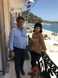 Επίσκεψη Αντιπεριφερειάρχη Π.Ε. Αιτωλοακαρνανίας Μαρίας Σαλμά στο Δήμαρχο Ακτίου - Βόνιτσας