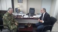 Συνάντηση του Περιφερειάρχη Απ. Κατσιφάρα με το νέο Διοικητή του ΚΕΤχ