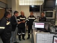 Επίσκεψη του Γρηγόρη Αλεξόπουλου στη Διοίκηση Πυροσβεστικών Υπηρεσιών Ν.Αχαϊασ και 6ης ΕΜΑΚ