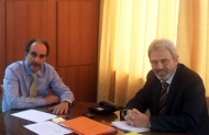 Απ. Κατσιφάρας: Συνάντηση με τον Δήμαρχο Ναυπάκτου για τα έργα της περιοχής