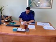 Υπογραφή σύμβασης μελετών για αντιμετώπιση κατολισθήσεων σε περιοχές της Π.Ε. Ηλείας