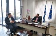 Σύσκεψη στην Περιφέρεια με το Γενικό Γραμματέα του Υπουργείου Πολιτισμού, Γιώργο Διδασκάλου - Ν. Φαρμάκης: «Κολοσσιαίο το ιστορικό και πολιτισμικό υπόβαθρο της Δυτικής Ελλάδας και πρέπει να μετατραπεί σε προμετωπίδα ανάπτυξης»
