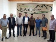 Επισκέψεις του Αντιπεριφερειάρχη Αγροτικής Ανάπτυξης Θ. Βασιλόπουλου στα Καλάβρυτα