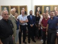 O Νεκτάριος Φαρμάκης στα γραφεία του ΣΕΒ Π&ΔΕ: «Ανάπτυξη της τοπικής επιχειρηματικότητας για τη δημιουργία νέων θέσεων εργασίας»