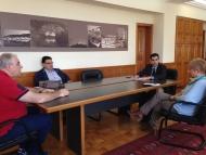 Συνάντηση Αντιπεριφερειάρχη Π.Ε. Ηλείας Β. Γιαννόπουλου με εκπροσώπους του εμπορικού κόσμου