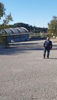 Επίσκεψη του Αντιπεριφερειάρχη Π. Σακελλαρόπουλου στο ΚΤΕΟ Πατρών όπου αναμένεται να κατασκευαστούν οι νέες εγκαταστάσεις της Δ/νσης Μεταφορών