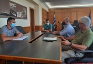 Συνάντηση Αντιπεριφερειάρχη Π.Ε Ηλείας Β. Γιαννόπουλου με το Γεν. Διευθυντή Αγροτικής Οικονομίας της ΠΔΕ - Καταγραφή ζημιών σε φυτικό και ζωικό κεφάλαιο