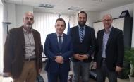 Συνάντηση του Περιφερειάρχη Δυτικής Ελλάδας, Ν. Φαρμάκη με τον Υφυπουργό Ψηφιακής Διακυβέρνησης, Γ. Γεωργαντά