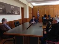 Συνάντηση Αντιπεριφερειάρχη Π.Ε. Ηλείας Β. Γιαννόπουλου με Διοίκηση ΚΤΕΛ Ν. Ηλείας