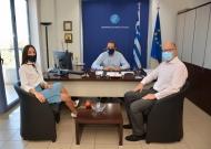 Συνάντηση του Περιφερειάρχη και του Προέδρου του Περιφερειακού Συμβουλίου Δυτικής Ελλάδας με τη Διευθύντρια Πολιτισμού και Νεολαίας της UNESCO, Πειραιώς και Νήσων