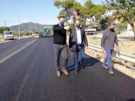 Αιτωλοακαρνανία: Ολοκληρώνεται η πρώτη φάση του οδικού τμήματος Διασελλάκι-Πέρκος - Επίσκεψη Περιφερειάρχη Ν Φαρμάκη σε οδικά έργα