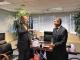 Συνάντηση του Αντιπεριφερειάρχη Αχαΐας Γρ. Αλεξόπουλου με τον πρέσβη των ΗΠΑ G. Pyatt