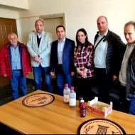 Συνάντηση του Αντιπεριφερειάρχη Αγροτικής Ανάπτυξης Κωνσταντίνου Μητρόπουλου με επιχειρηματική αποστολή από τη Σερβία