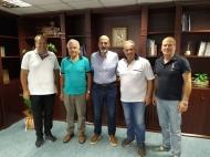 Συνάντηση του Αντιπεριφερειάρχη Π.Ε. Αχαΐας Χαράλαμπου Μπονάνου με στελέχη της Κολυμβητικής Ομοσπονδίας Ελλάδος