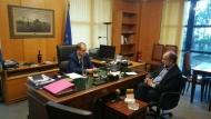 Απ. Κατσιφάρας: Θέλουμε να υπάρξει συνέπεια λόγων και έργων – Ξεκίνησε τρίμηνο επαφών του Περιφερειάρχη για να υλοποιηθούν οι κυβερνητικές δεσμεύσεις- Συνάντηση για την σιδηροδρομική γραμμή με τον ΓΓ του υπ. Υποδομών
