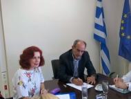 Σύσκεψη στην Περιφέρεια Δυτικής Ελλάδας με την Ειδική Γραμματέα για την κοινωνική ένταξη των Ρομά