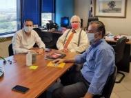Οι αγροτικές υποδομές στο επίκεντρο της συνάντησης του Αντιπεριφερειάρχη Θ. Βασιλόπουλου με το Γενικό Γραμματέα ΥΠΑΑΤ Δ. Παπαγιαννίδη