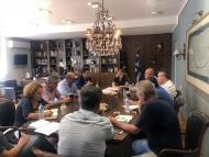 Σύσκεψη στο πλαίσιο της Αναθεώρησης του Στρατηγικού Πλαισίου Επενδύσεων Μεταφορών (ΣΠΕΜ) στο Μεσολόγγι