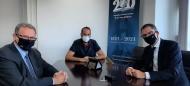 Με τον Περιφερειάρχη Δυτικής Ελλάδας συναντήθηκε ο Πρέσβης της Νορβηγίας