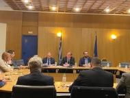 Σύσκεψη με τον Υπουργό Υποδομών για την Πατρών - Πύργου