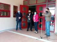 Επίσκεψη της Αντιπεριφερειάρχη Π.Ε. Αιτωλοακαρνανίας Μαρίας Σαλμά στο 2ο ΓΕΛ Ιεράς Πόλεως Μεσολογγίου