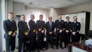 Επίσκεψη στον Περιφερειάρχη Δυτικής Ελλάδα Απ. Κατσιφάρα πραγματοποίησε η Αντιπροσωπεία της Αντιναρκικής Μόνιμης Δύναμης του ΝΑΤΟ