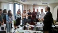 Φοιτητές του Τμήματος Αρχιτεκτονικής επισκέφθηκαν τον Περιφερειάρχη Απόστολο Κατσιφάρα